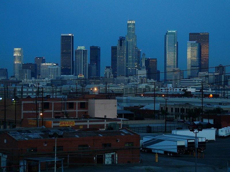 Down town Los Angeles, Лос-Анджелес