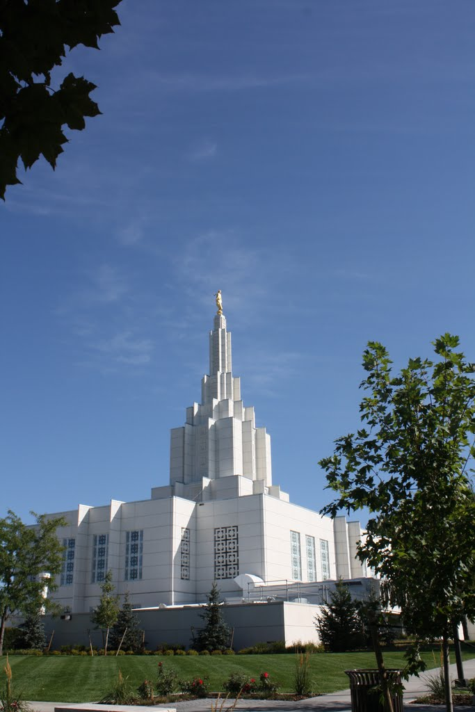 Idaho Falls Temple, Idaho Falls, Idaho, Айдахо-Фоллс