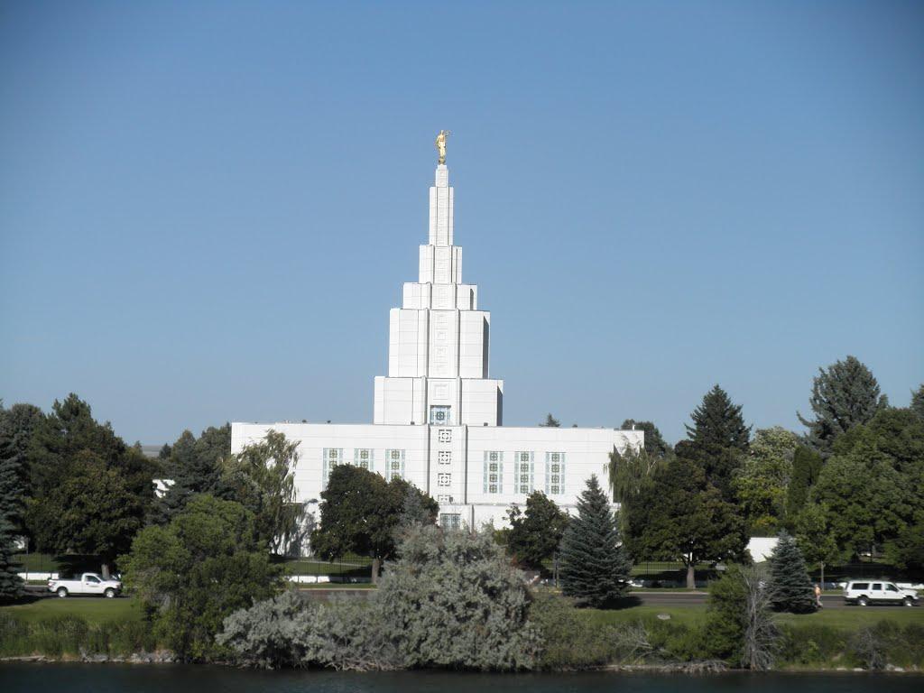 Idaho Temple in Idaho Falls, Айдахо-Фоллс