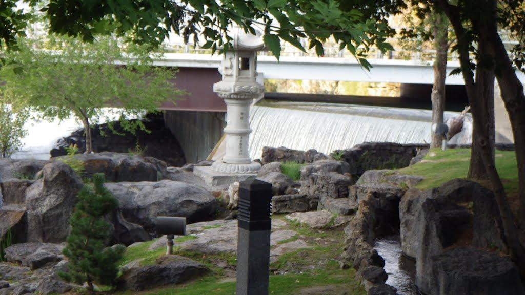 The Japanese gardens in Idaho Falls, Айдахо-Фоллс