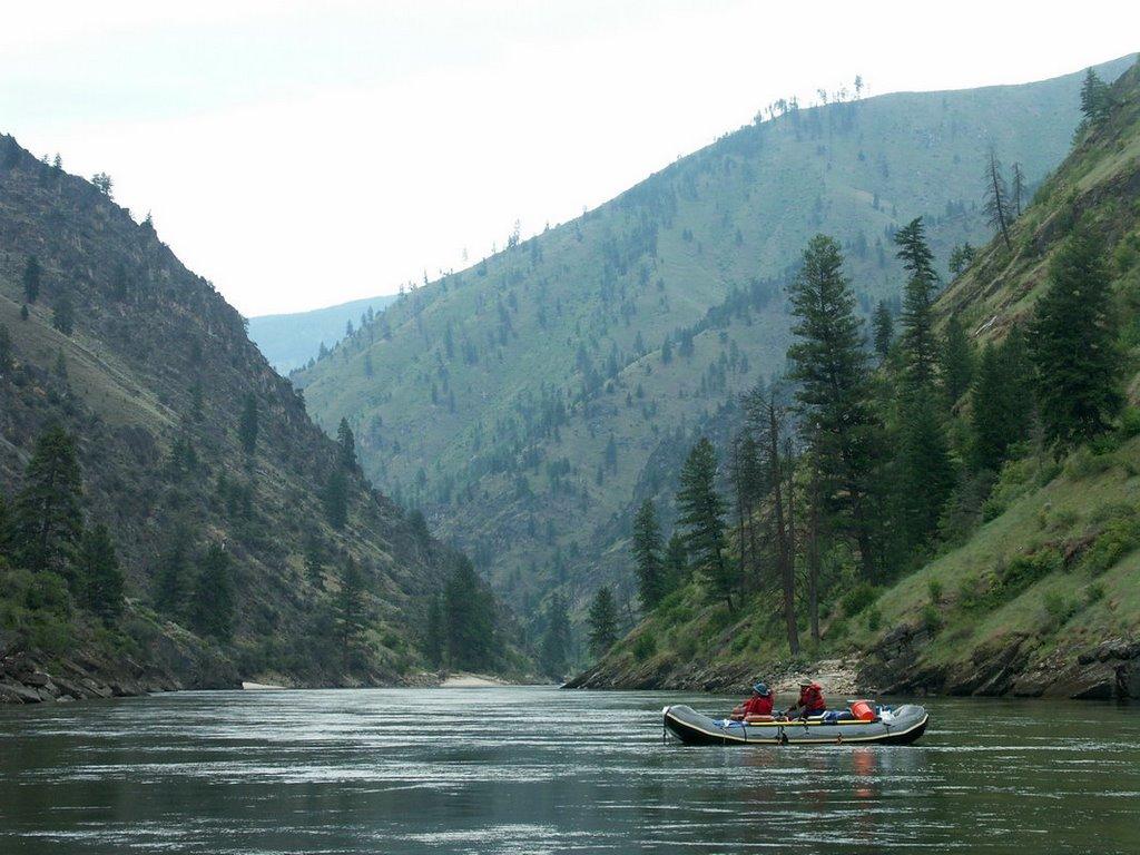 Rafting the Salmon River, Барли