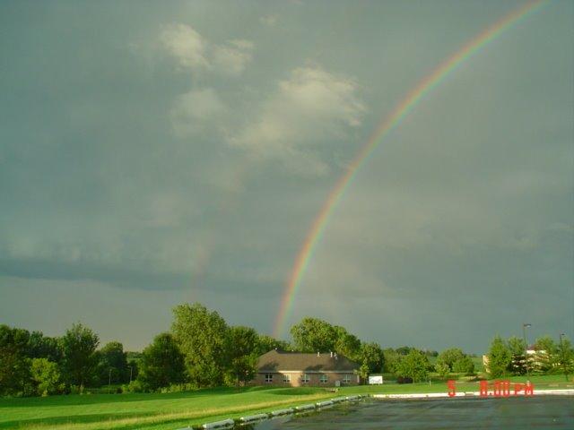 rainbow over,IA, Аллеман