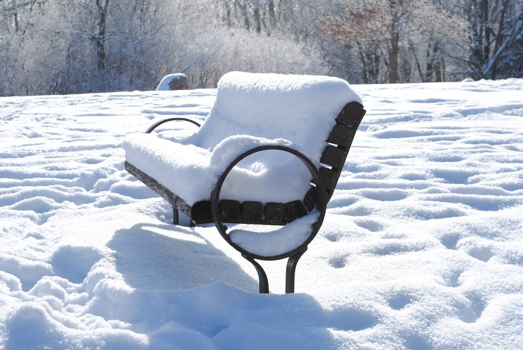 Hickory Hill Park, Snow Bench, Вест-Де-Мойн