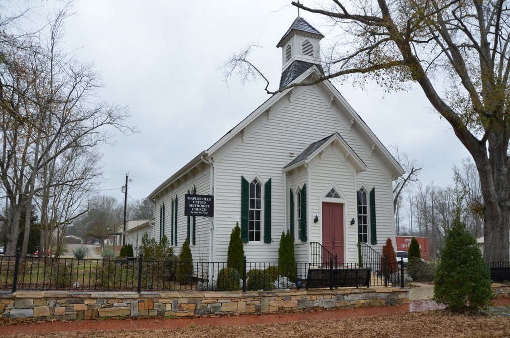 Maplesville United Methodist, Аубурн