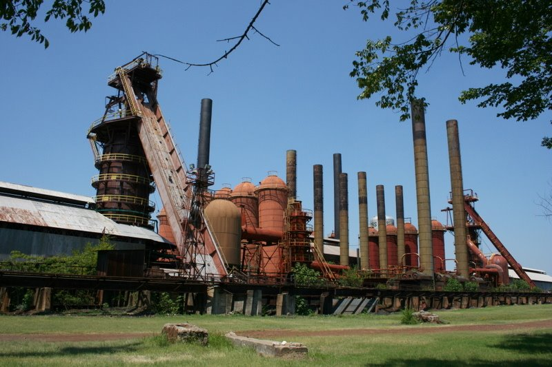 Sloss Furnaces National Historic Landmark. 8/11/2007, Бирмингам