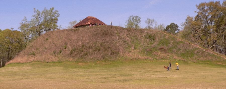 Mound B, Moundville Archaeological Park, Alabama, Маундвилл
