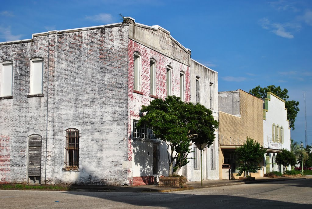 Downtown Flomaton, Alabama, Фломатон
