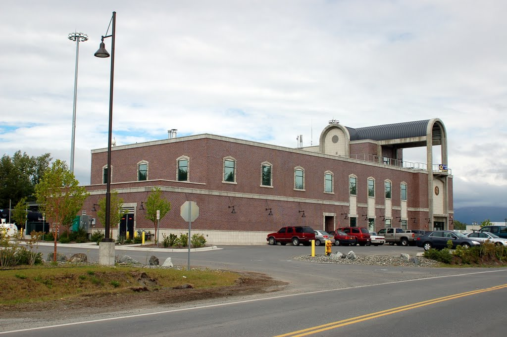 Alaska Railroad Maintenance Headquarters, Whitney Road, Anchorage, AK, Анкоридж