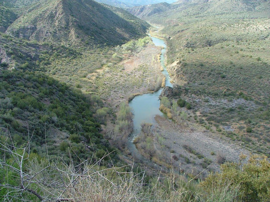 Verde River from FR 68e @ 3,030 elevation, Лук
