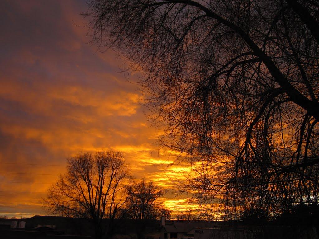 Sunrise in Springerville, Спрингервилл