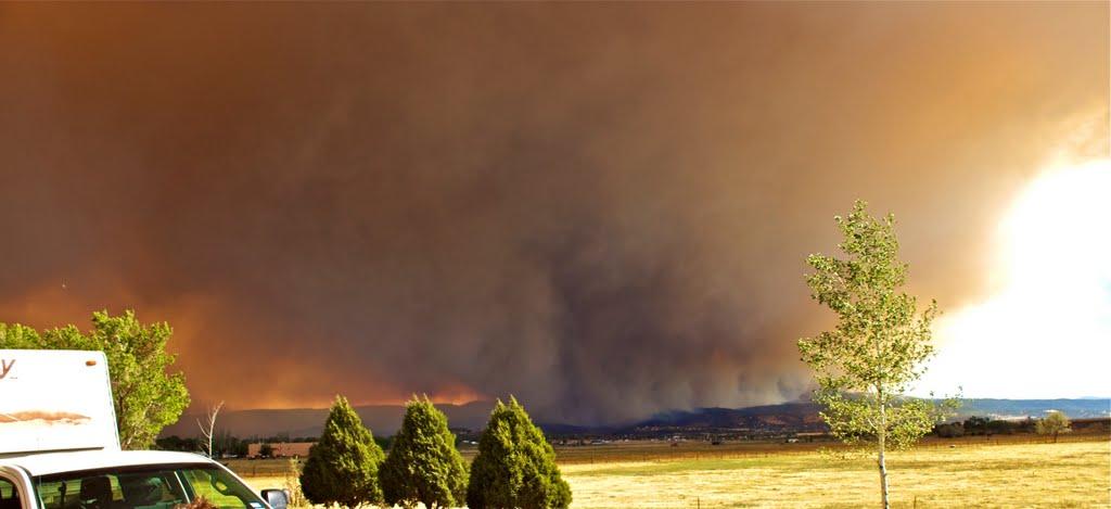 WILDFIRE SPRINGERVILLE, AZ, Спрингервилл