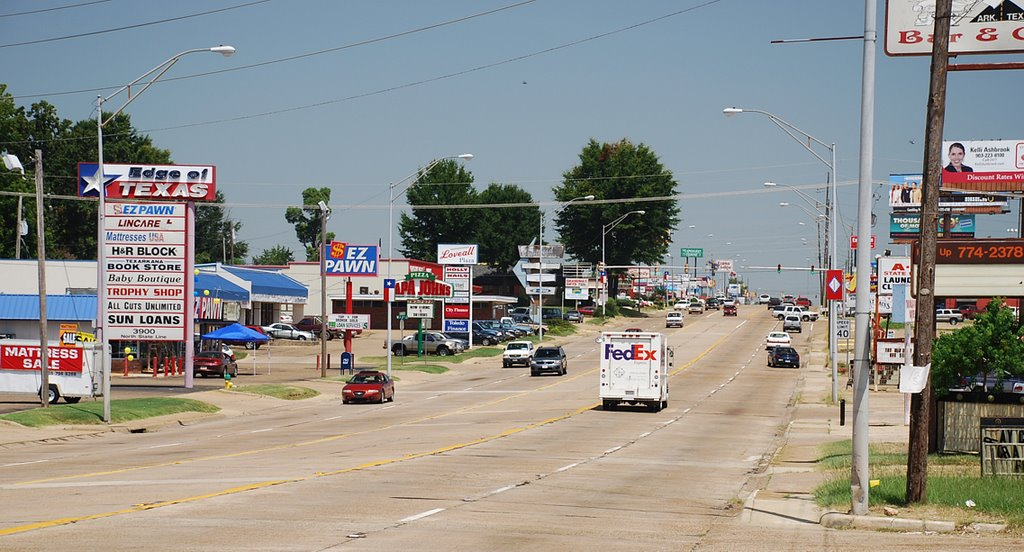 State Line Rd in Texarkana, TX/AR, Бакнер