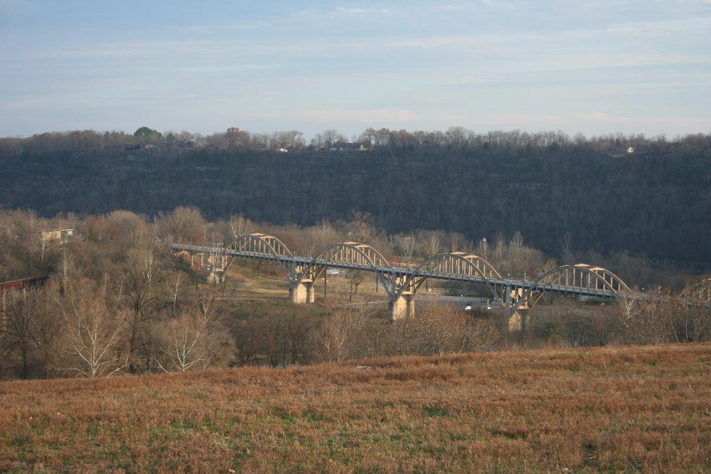 Cotter Bridge, Гассвилл