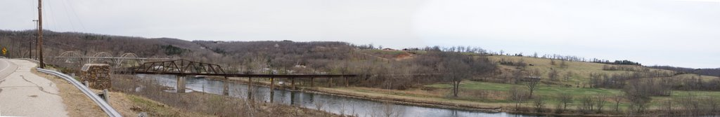 Scenic Overlook of the White River, Гассвилл