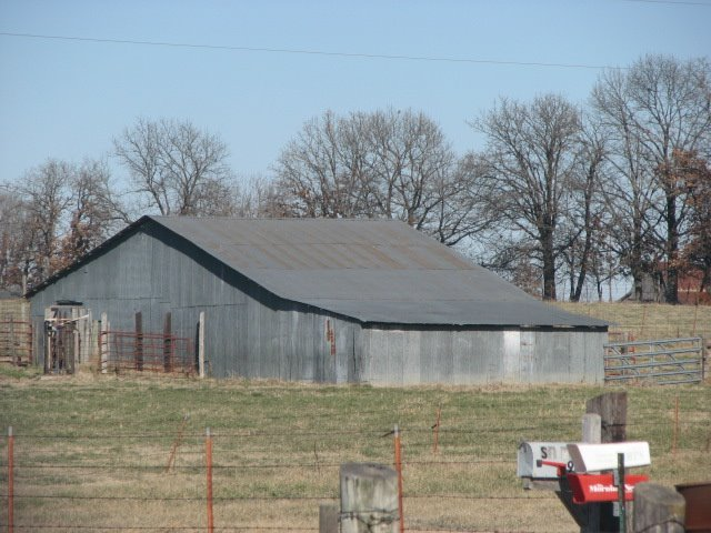 Barn in Tontitown, AR, Тонтитаун
