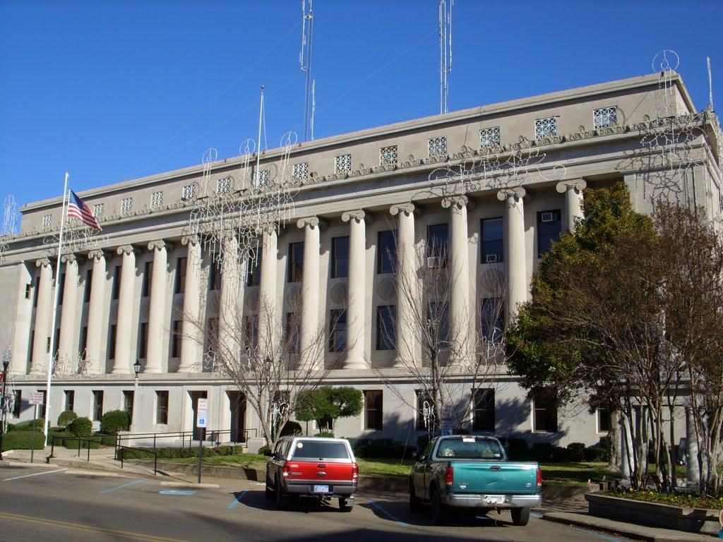 Union County Arkansas Courthouse in El Dorado, Эль-Дорадо