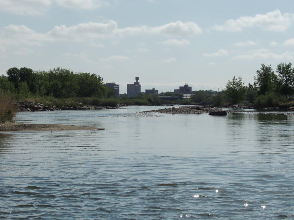 The North Platte in Casper., Каспер