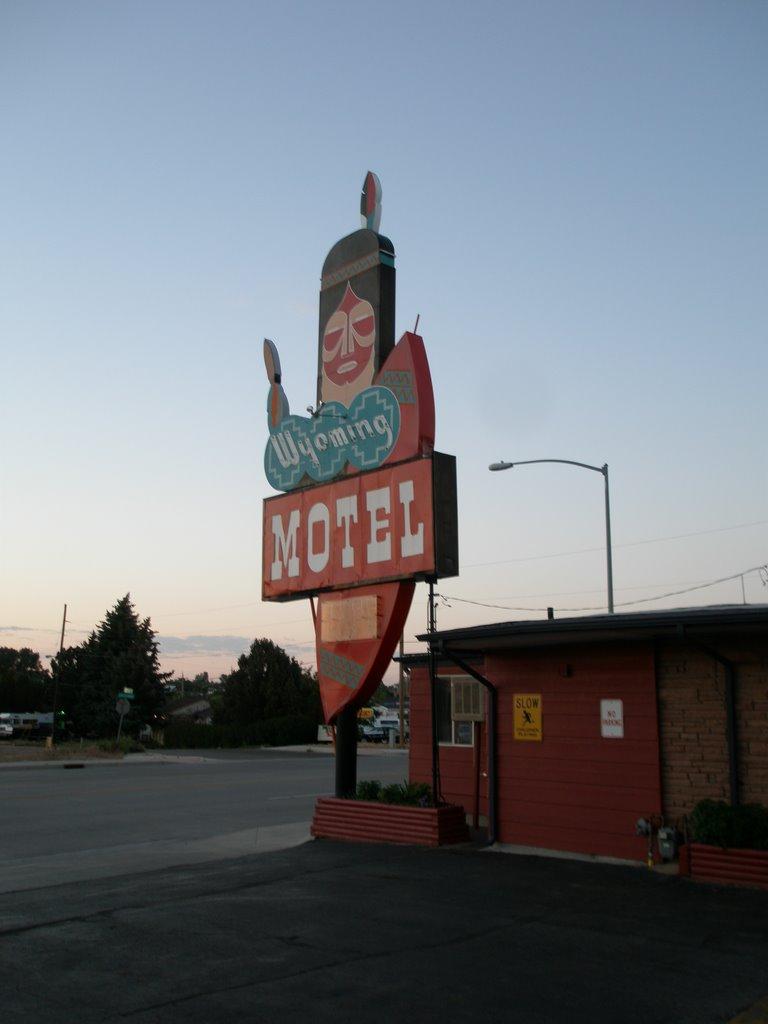 Wyoming Motel, Cheyenne, Шайенн