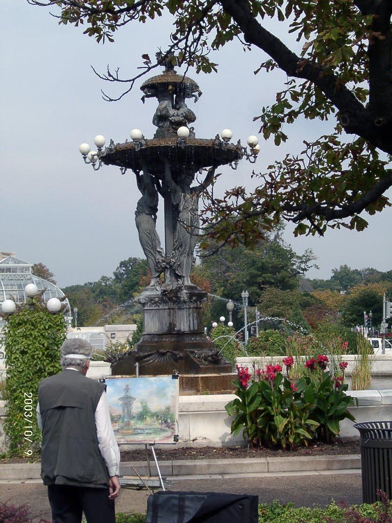 Bartholdi park - A painter, Венатчи