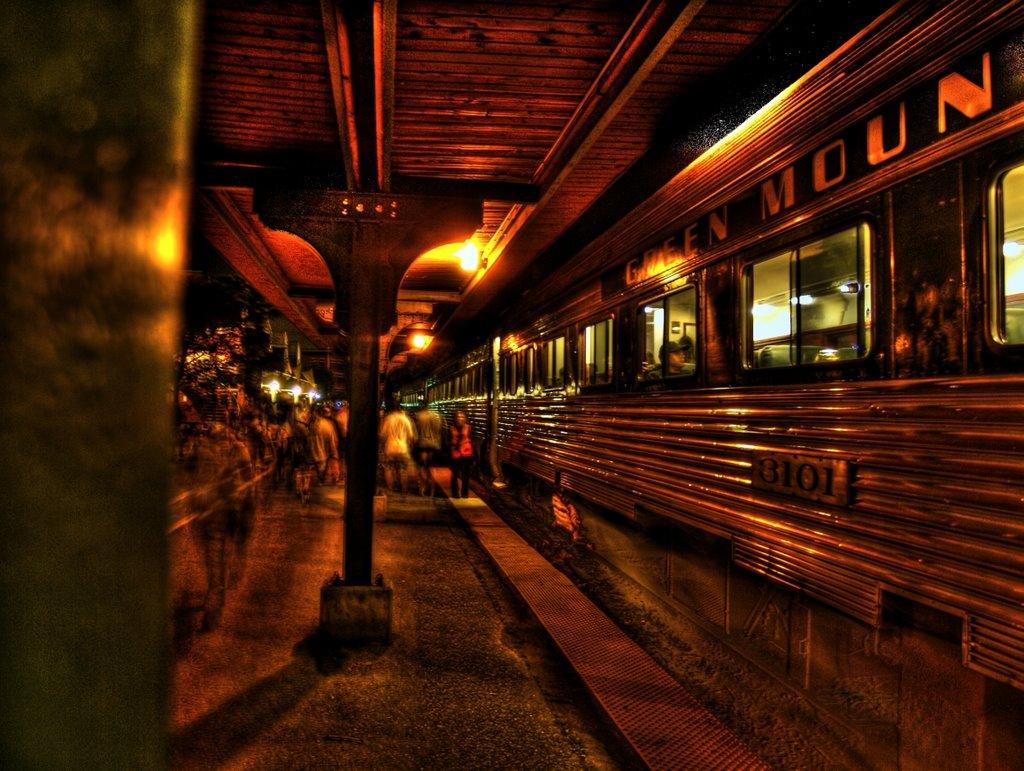 Green Mountain Train (HDR), Берлингтон