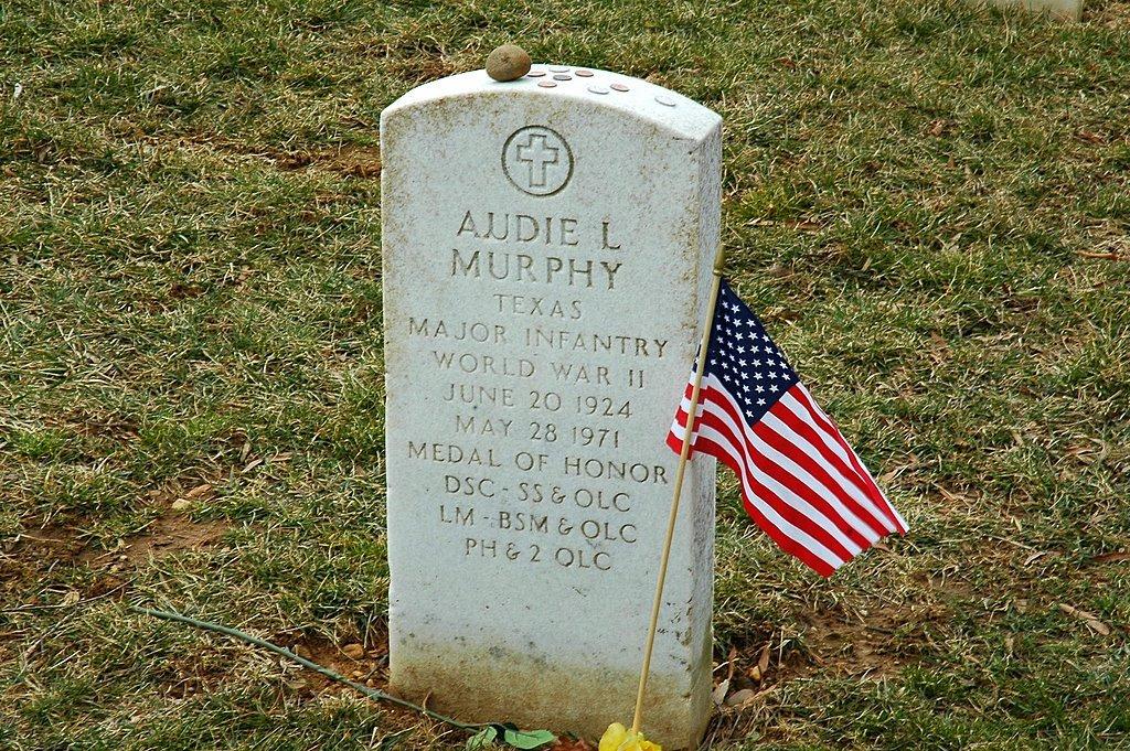 Audie Murphy - Arlington National Cemetery, Арлингтон