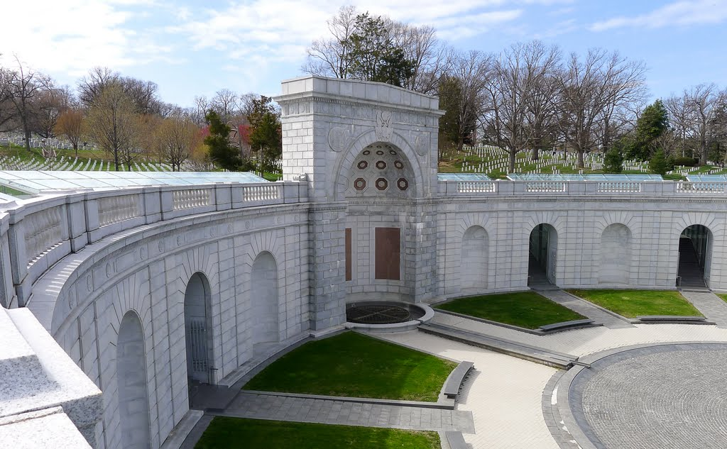 Women in Military Service for America Memorial, Арлингтон