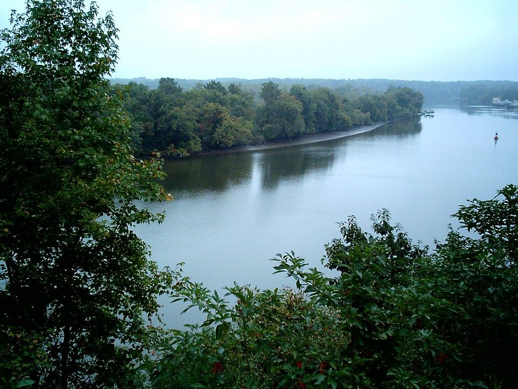 James River at Drewyrs Bluff, Беллвуд