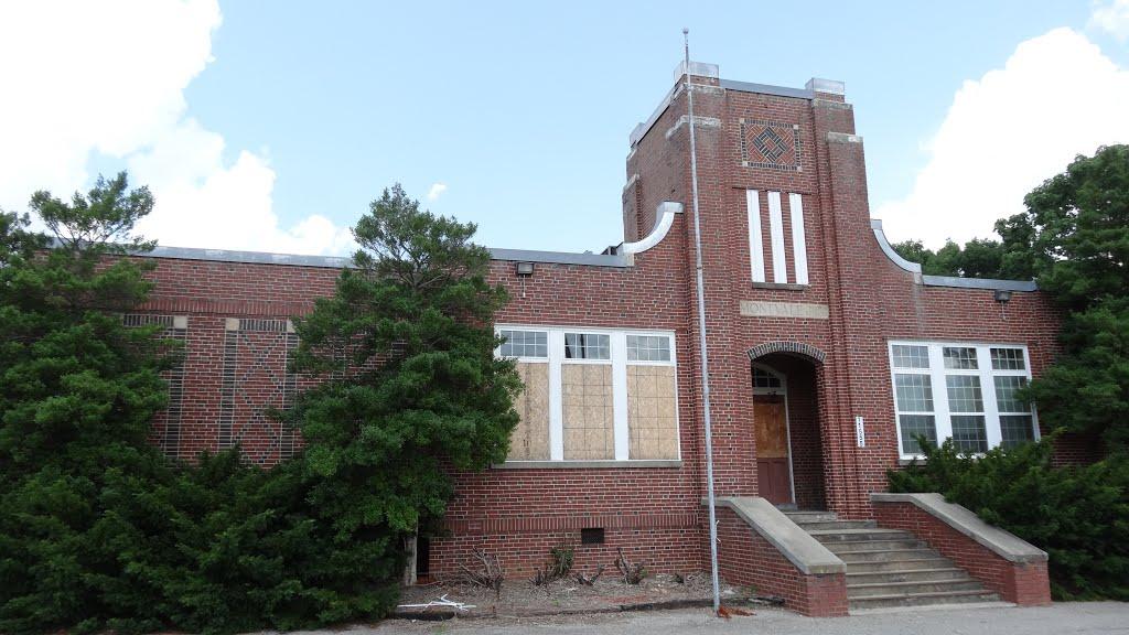 Old Montvale High School, Montvale, VA, Блу-Ридж
