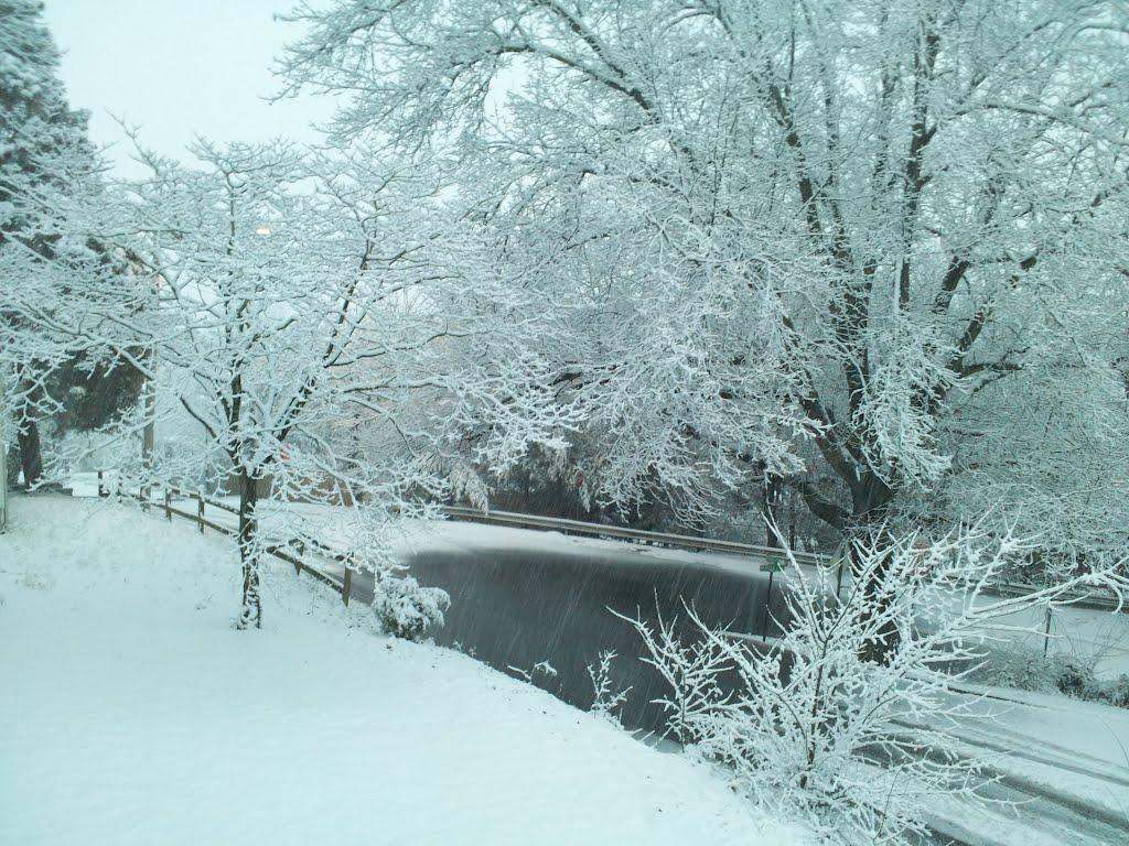 Snow from porch, Винтон