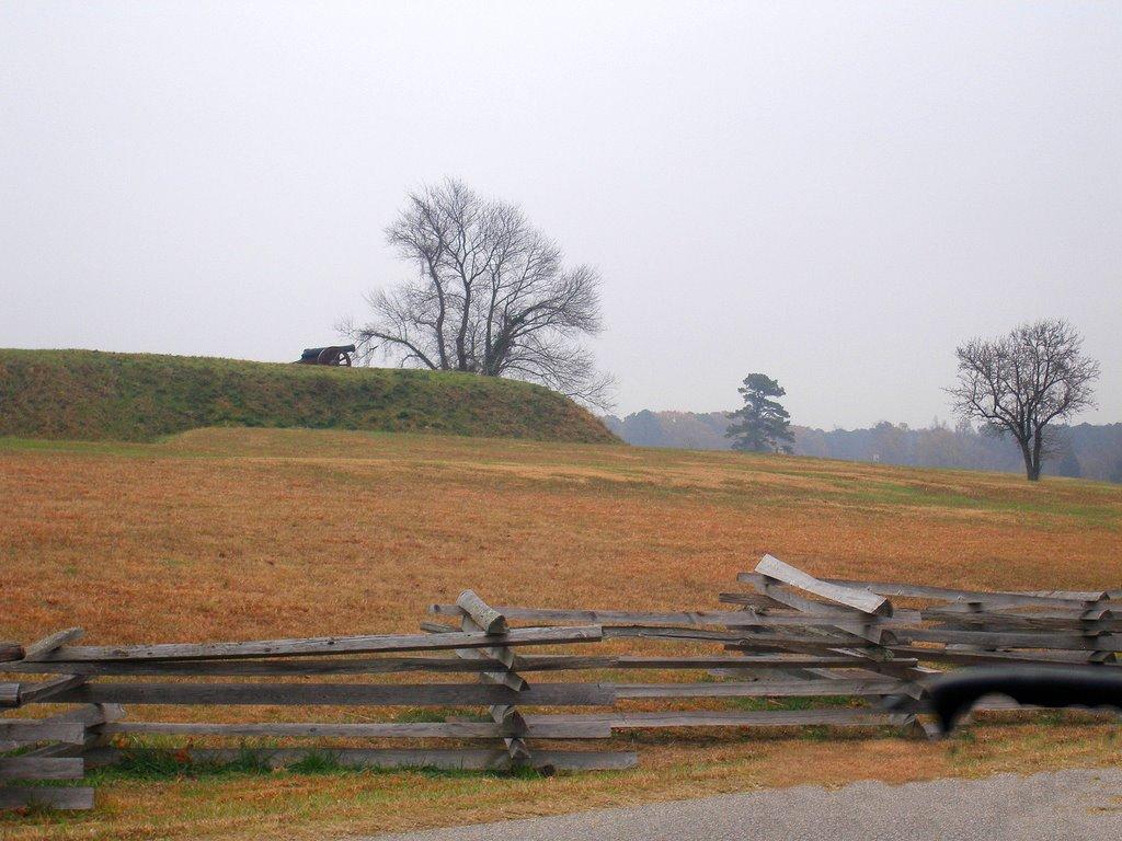 Canon on the hill, Йорктаун