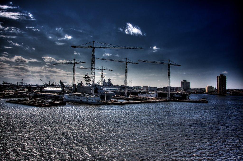 Shipyards on the Elizabeth River, Портсмут