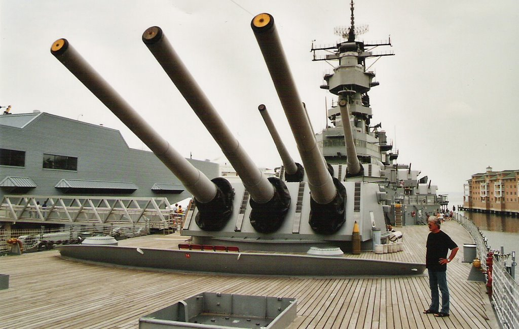 USS Wisconsin BB-64, Портсмут