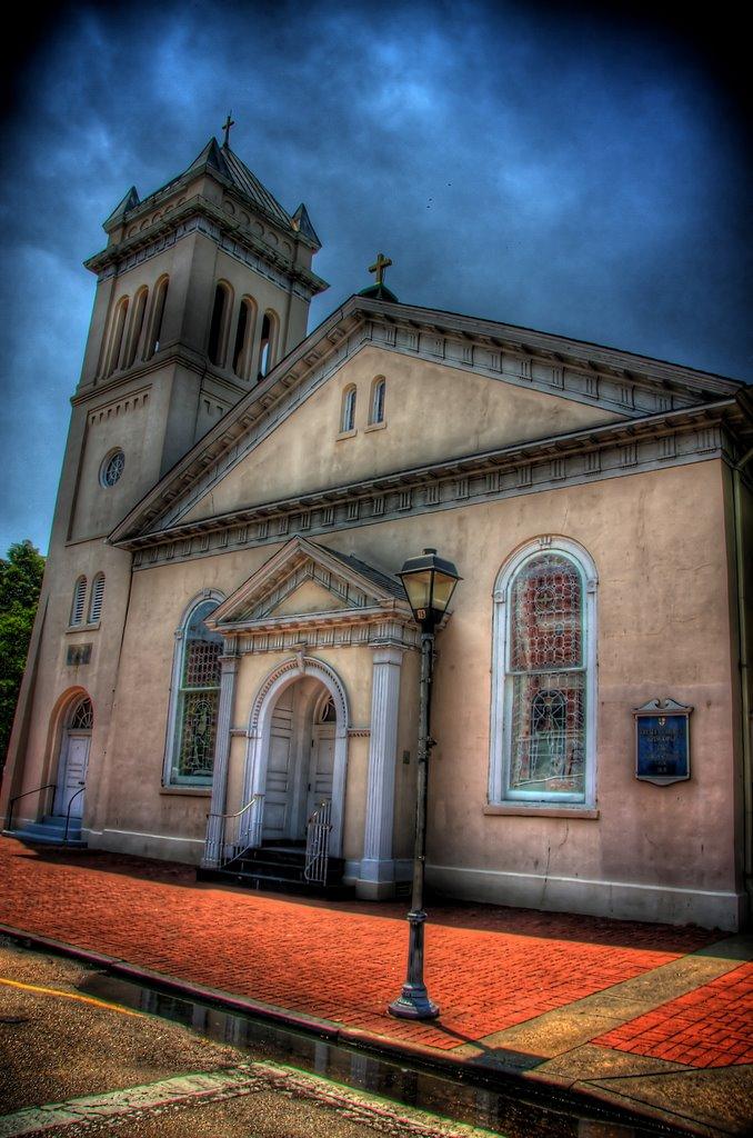 Trinity Episcopal Church 1752, Портсмут