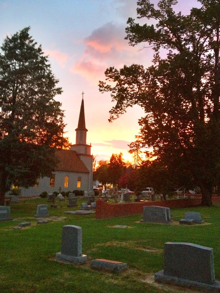 St Johns Episcopal Church, Tappahannock, Virginia, Таппаханнок
