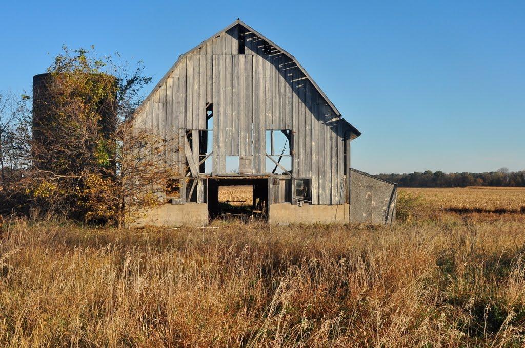 green county barn, Олбани