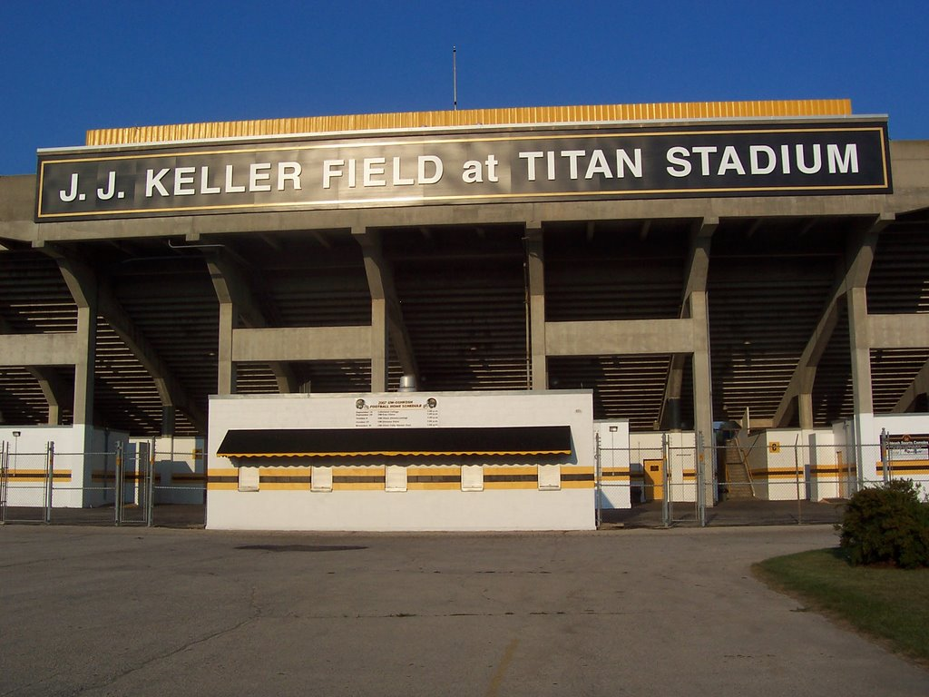 J.J. Keller Field at Titan Stadium, Ошкош