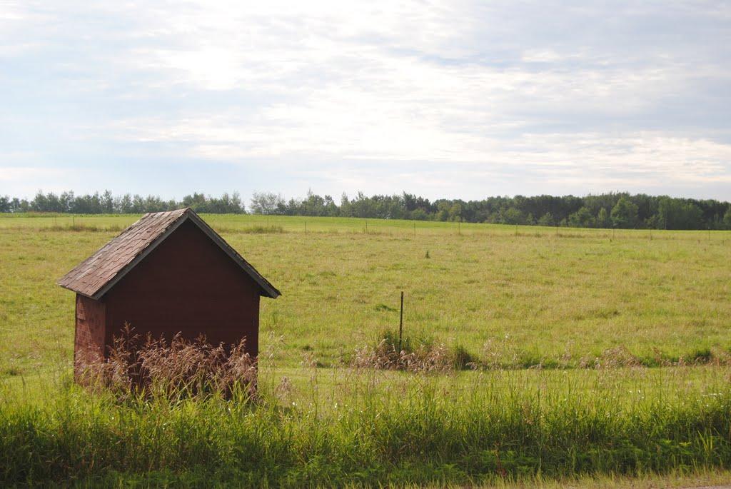 Little hut, Wisconsin., Ракин