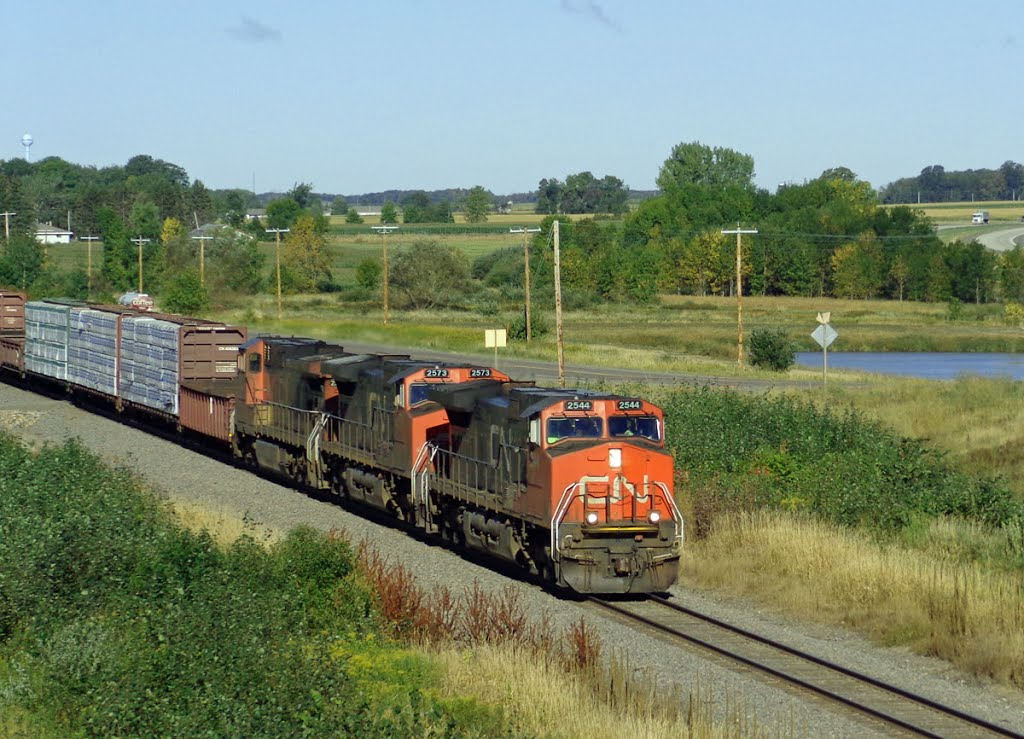 CN 2544  Junction City, WI, Ракин