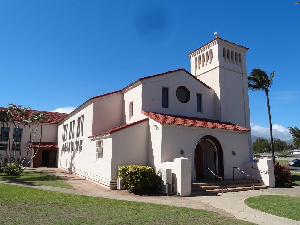 Christ the King Catholic Church  Kahului HI USA, Кахулуи