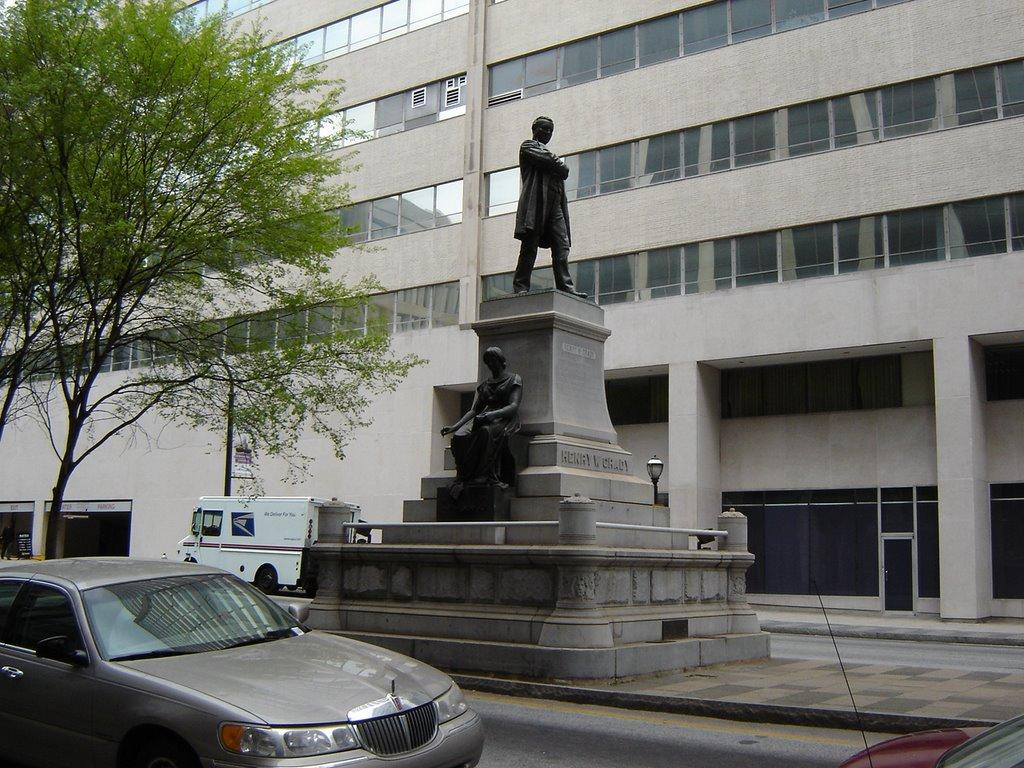 Henry W. Grady (1850-1889) Statue Atlanta GA, Атланта