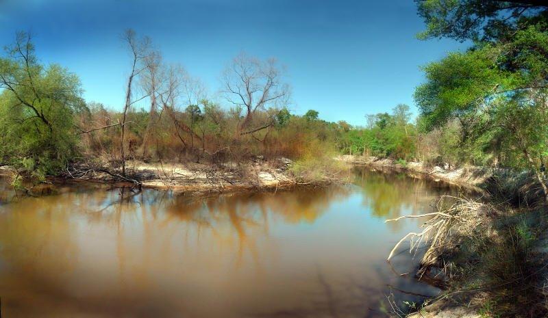 Ocklocknee River - Late Fall, Аттапулгус