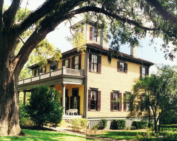1856 Brokaw-McDougall house, Tallahassee, Florida (1995), Аттапулгус