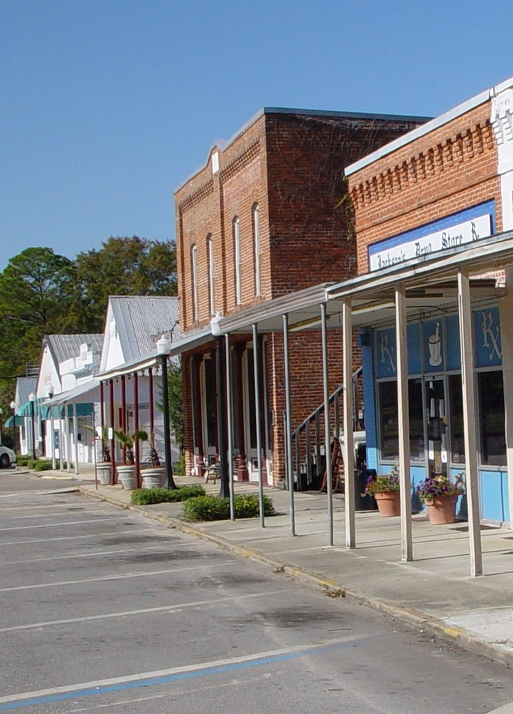 downtown Greenville, Florida (11-19-2006), Аттапулгус