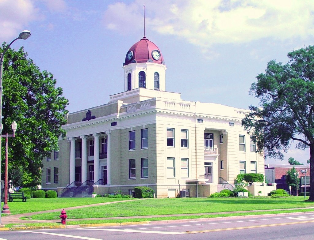 1913 Gadsden County courthouse, Quincy, Florida (8-6-2006), Аттапулгус