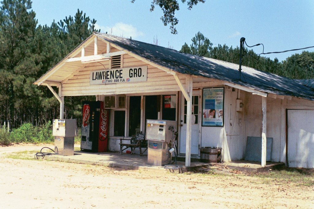 Lawrence grocery store, Two Egg, Florida (8-6-2006), Аттапулгус