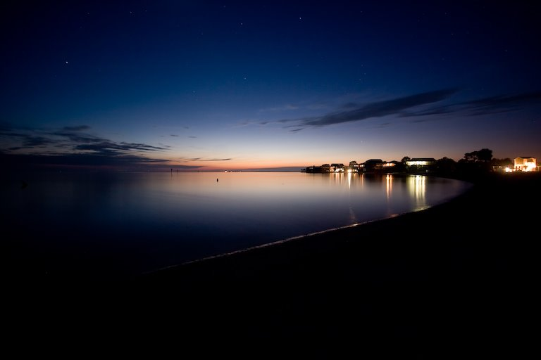 Nighttime at Shell Point, Аттапулгус