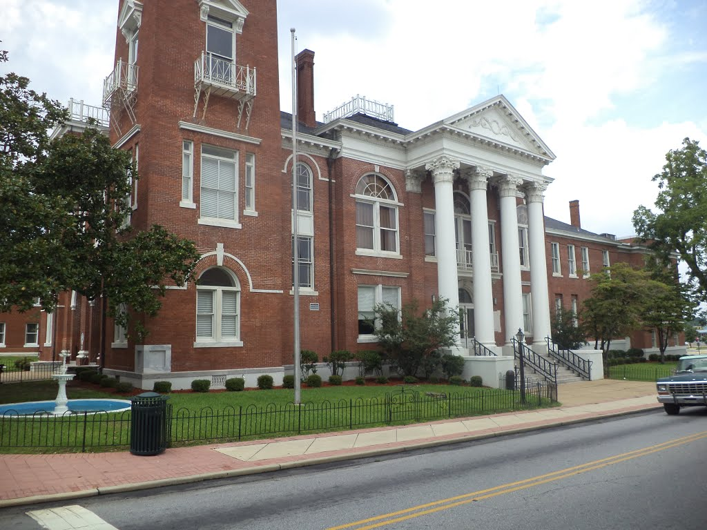 Decatur County Courthouse (SouthEast face), Баинбридж