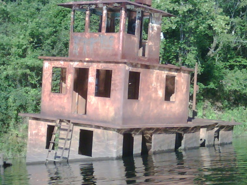 retired barge, Белведер Парк