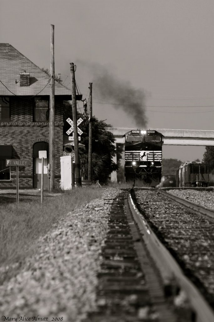 On the right track, Блаирсвилл