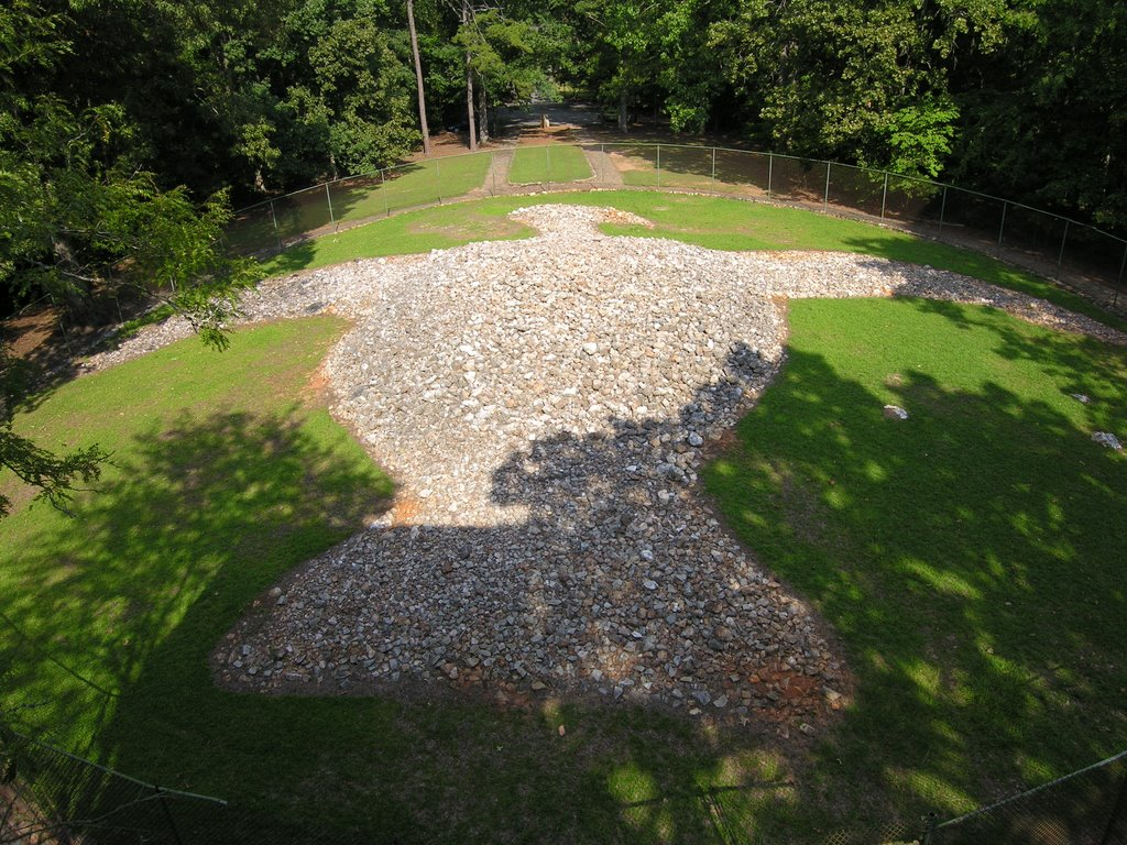 Rock Eagle Monument, Блаирсвилл